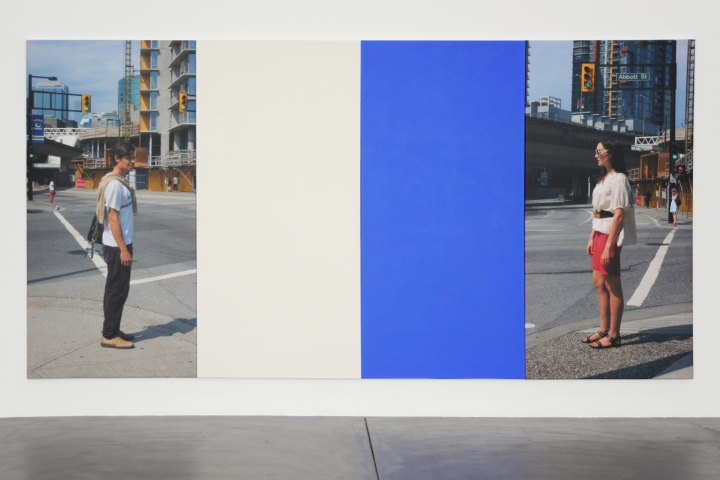 Ian Wallace, At the Crosswalk VI, 2008, Courtesy Hauser & Wirth, Zürich, Foto: Kunsthalle Zürich